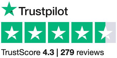 Dryly-trustpilot-score