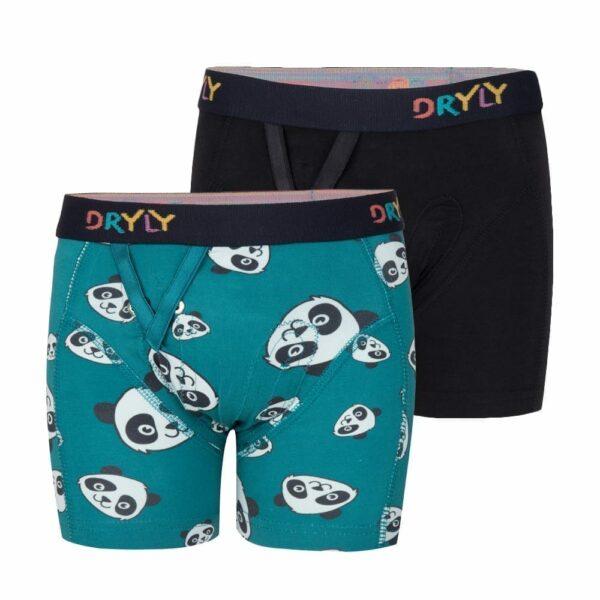 Dryly Boxershorts wizzu zwart Combi-pack