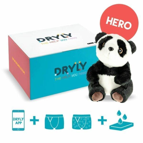 Dryly - plaswekker pakket - Hero - de oplossing tegen bedplassen